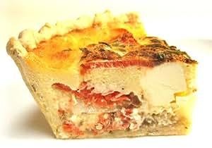 【フランス食堂 ウフ oeuf】 スモークサーモンとクリームチーズのキッシュ15cm