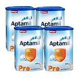 Amazon.co.jp[4箱セット] Aptamil(アプタミル) プレ(Pre) 800 g (0ヶ月〜6ヶ月)(並行輸入品)