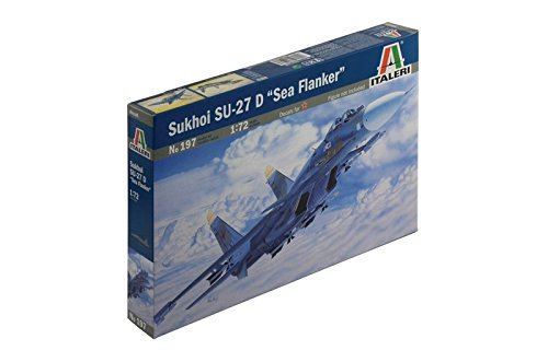イタレリ 197 1/72 SU-27D シー・フランカー