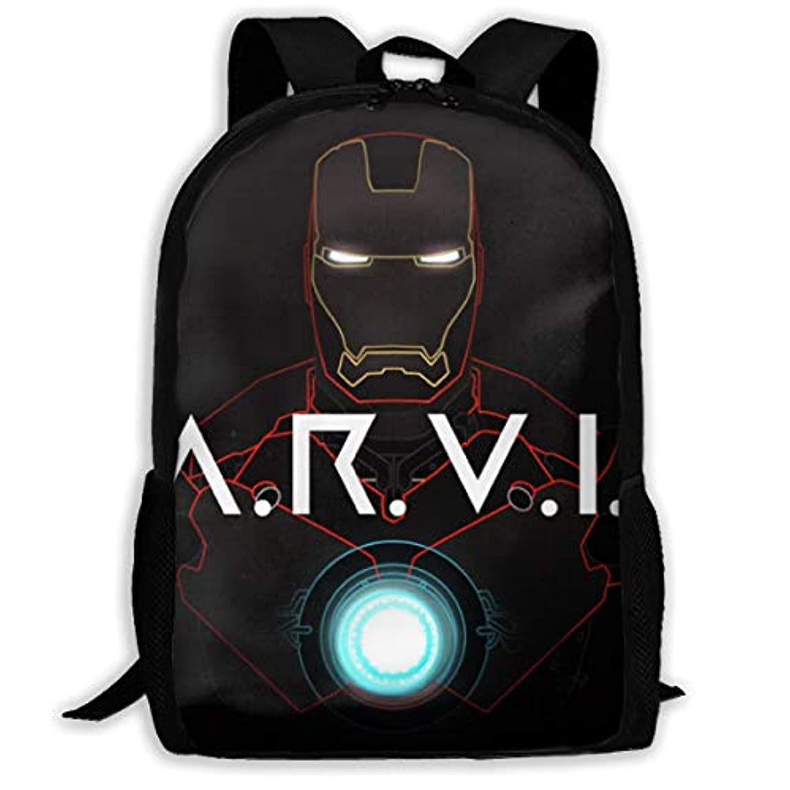 テントチケット活気づくおしゃれ ラップトップ アイアンマン Iron Man 3 リュックサック バックパック 多機能 バッグ スクエアリュック ビジネスリュック カバン 撥水加工 大容量 軽量 防水 耐衝撃 高校生 大学生 通勤 通学 旅行バッグ