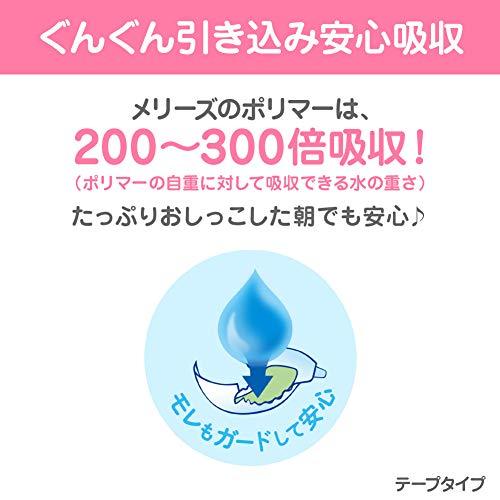 『【テープ 新生児用】メリーズさらさらエアスルー (お誕生~5kg) 90枚 【Amazon.co.jp限定】』の8枚目の画像
