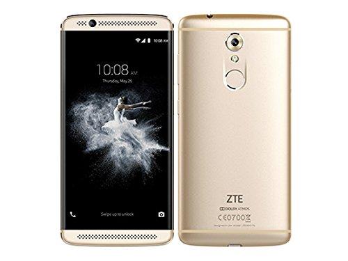 ZTE SIMフリースマートフォン ZTE AXON 7 MINI(イオンゴールド) AXON7_MINI/IONGOLD