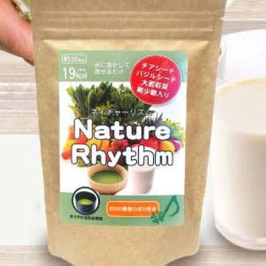 おとなしいわかる平行Nature Rhythm スーパーフードMIX酵素スムージー グリーンスムージー ダイエット (まろやか豆乳抹茶, 200g)
