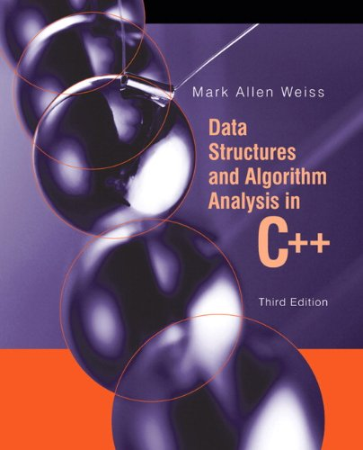 Download Data Structures and Algorithm Analysis in C++ 032144146X