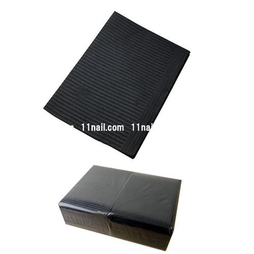 スポット写真の腸ネイル 防水ペーパー/裏面防水ネイルシート 50枚 ブラック