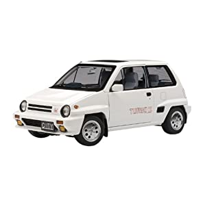 AUTOart 1/18 ホンダ シティ ターボII (ホワイト) ※モトコンポ/レッド