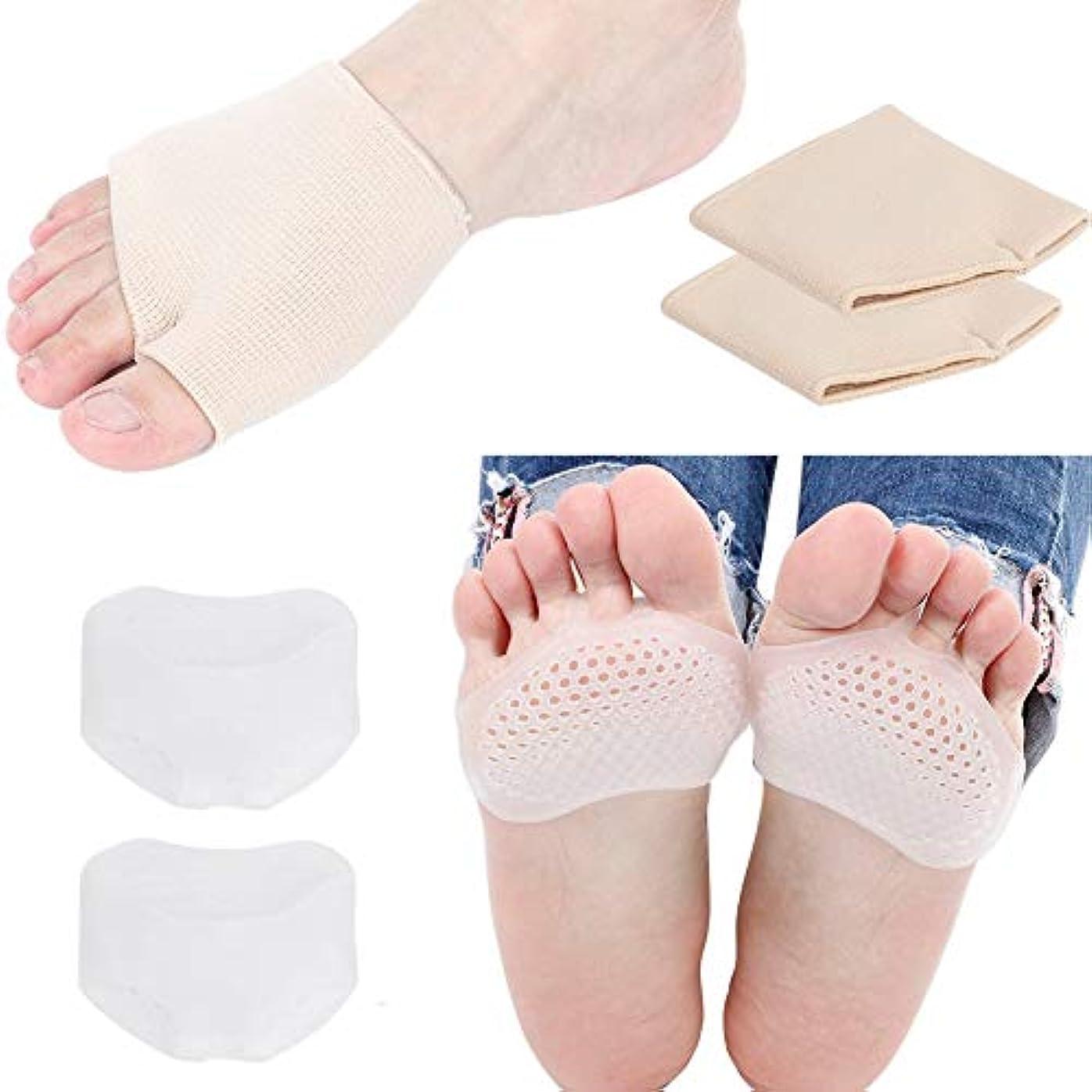 チャンピオンロープ歪めるフットパッド、フォアフットクッション、ハイヒールクッション滑り止めシリコンヒールクッションヒールホルダーフォアフットクッションベールパッドヒールライナー足の痛みのためのジェルパッド靴の大きさを向上させる