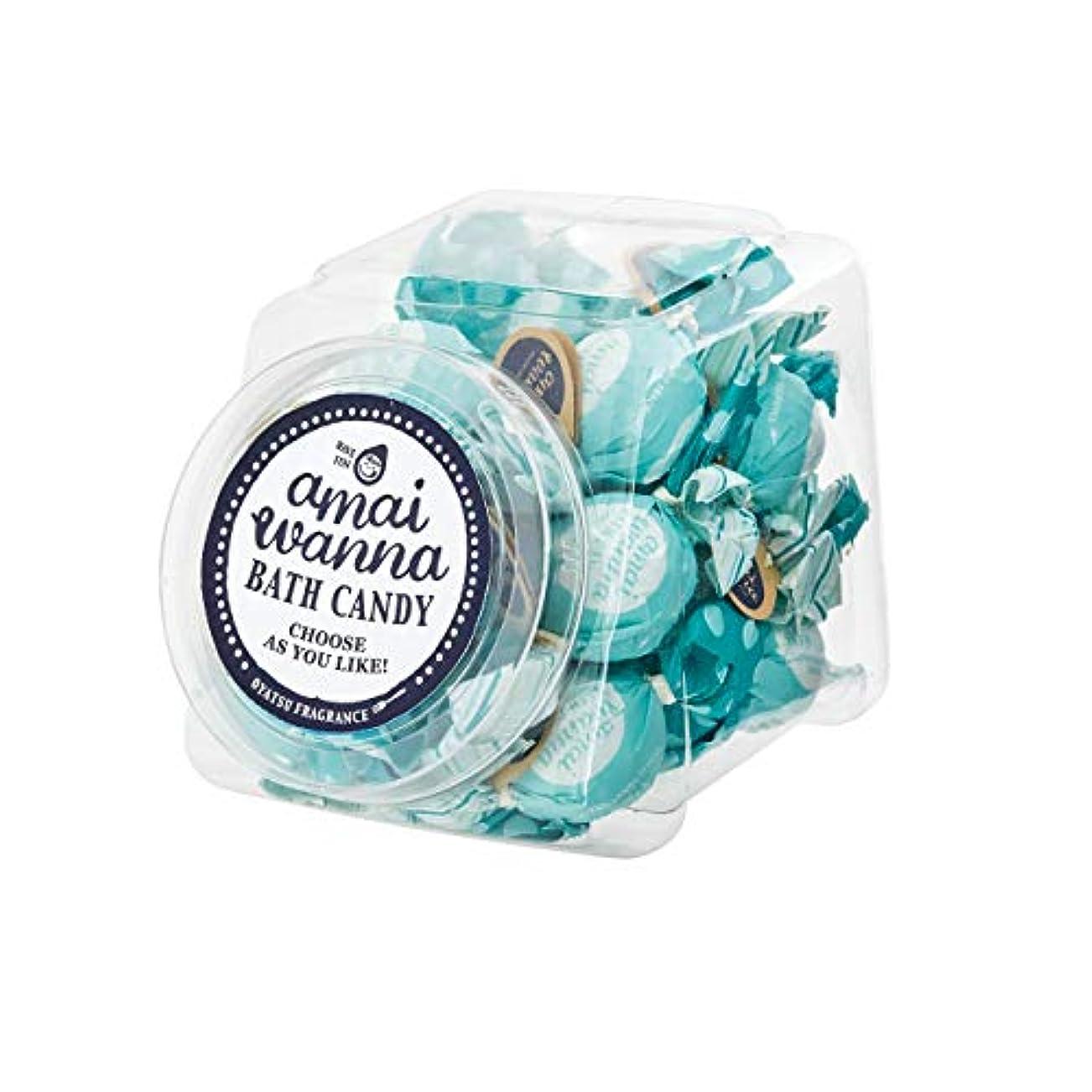 アマイワナSP バスキャンディーポットセット24粒入り(おはようミント バスギフト キャンディーの形の入浴料 大人可愛い)