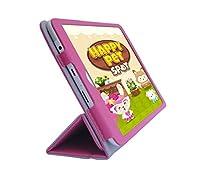 iShoppingdeals–for HP 8g2タブレット(モデル1411のみ)二つ折りカバーケース、チューリップピンク