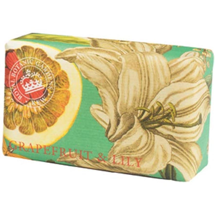 ひらめき彼女の北English Soap Company イングリッシュソープカンパニー KEW GARDEN キュー?ガーデン Luxury Shea Soaps シアソープ Grapefruit & Lily グレープフルーツ&リリー