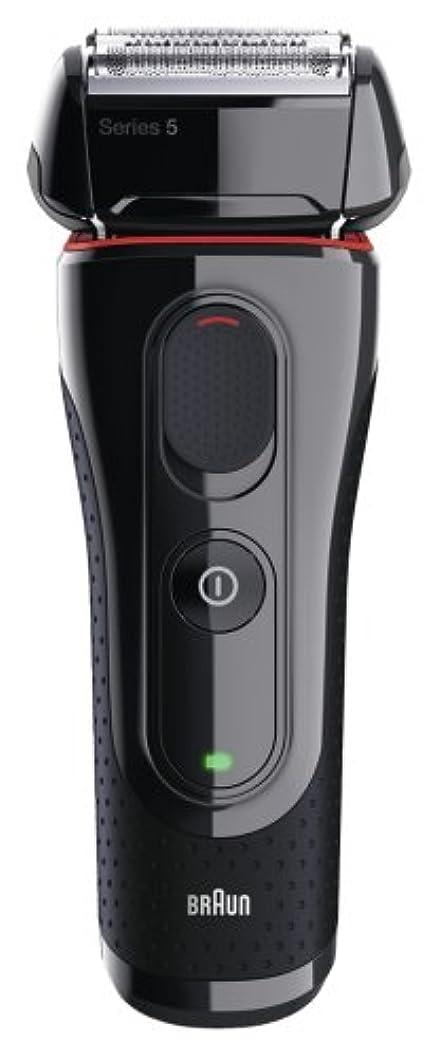伝導アブストラクトサンダースブラウン メンズ電気シェーバー シリーズ5 5030s 3枚刃 水洗い可
