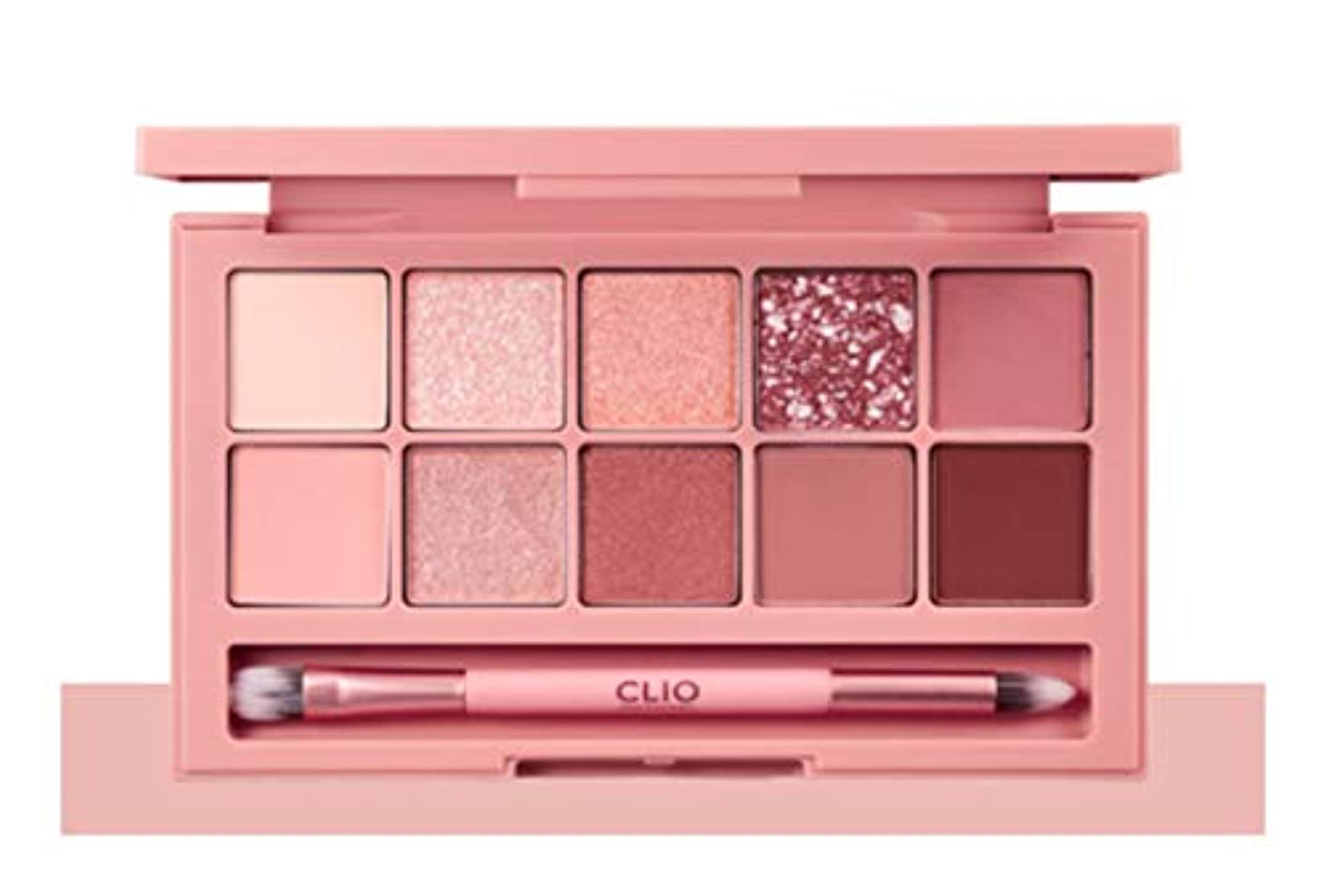 薄めるタイムリーな絶対にCLIO Pro Eye Palette Simply Pink(simple&classic)告発色、高密着、告知の中独歩的な高クオリティアイシャドウパレット10color(並行輸入品)