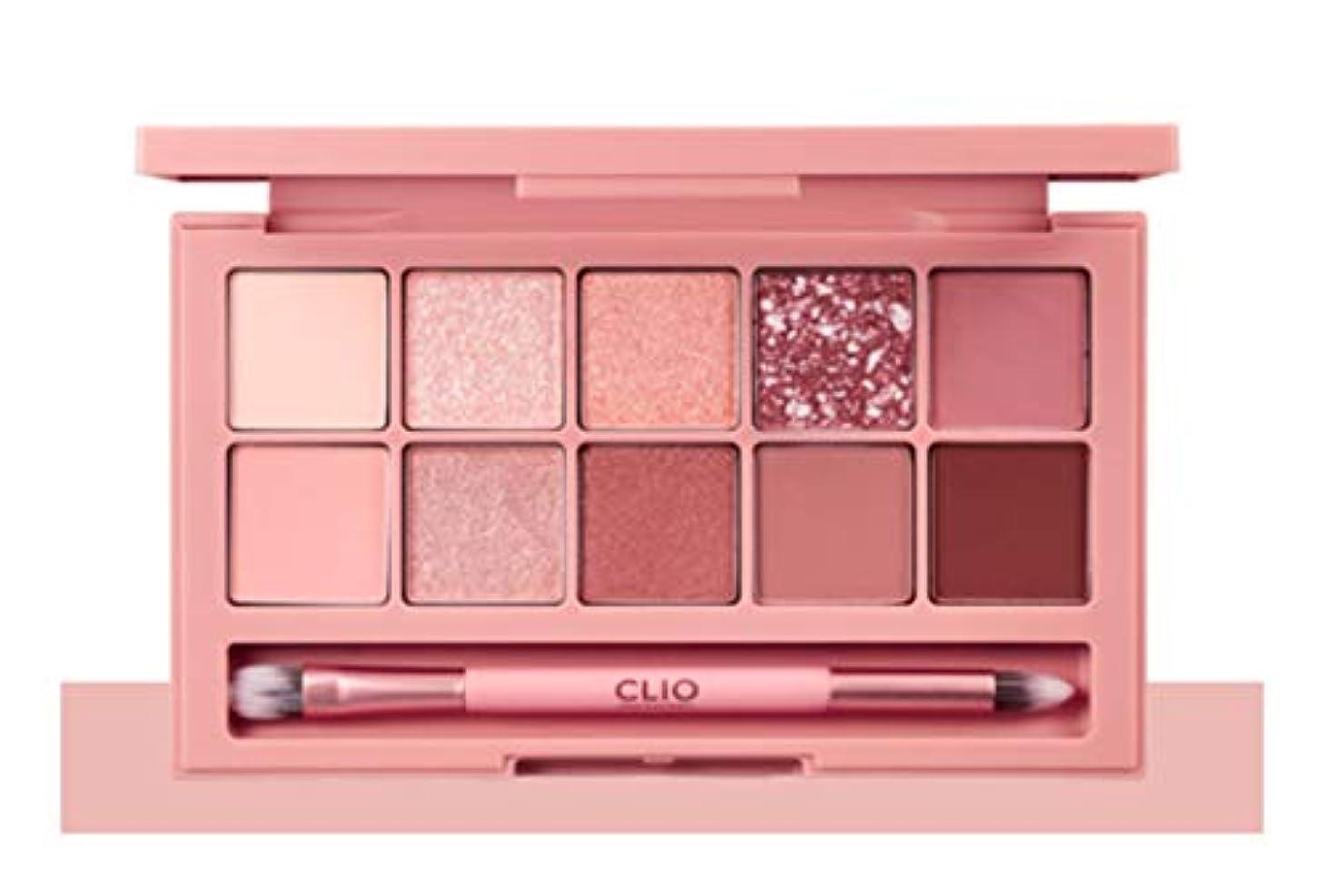 同行する学者試用CLIO Pro Eye Palette Simply Pink(simple&classic)告発色、高密着、告知の中独歩的な高クオリティアイシャドウパレット10color(並行輸入品)