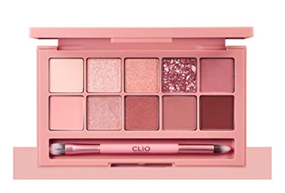 記憶五ヒギンズCLIO Pro Eye Palette Simply Pink(simple&classic)告発色、高密着、告知の中独歩的な高クオリティアイシャドウパレット10color(並行輸入品)