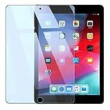 iPad 9.7 ブルーライトカット 【目疲れ軽減度UP】 ガラスフィルム 90% ブルーライトカット 2018   2017 新型 iPad Pro 9.7   Air2 2014 Air 2013 強化ガラス 荒野行動 対応 液晶保護フィルム 高透過率 気泡ゼロ 硬度9H WANLOK iPad5 Blue