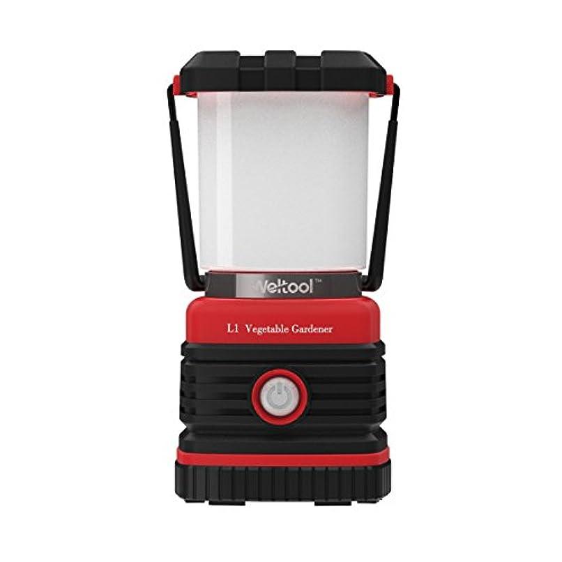 モニター感嘆符排除するWeltool 電池式 LEDランタン ル 防水仕様 電球色 赤い光 SOS 目の保護 長時間 防災対策 登山 夜釣り ハイキング アウトドア キャンプ用 夜間の愛犬の散歩 緊急 地震 災害