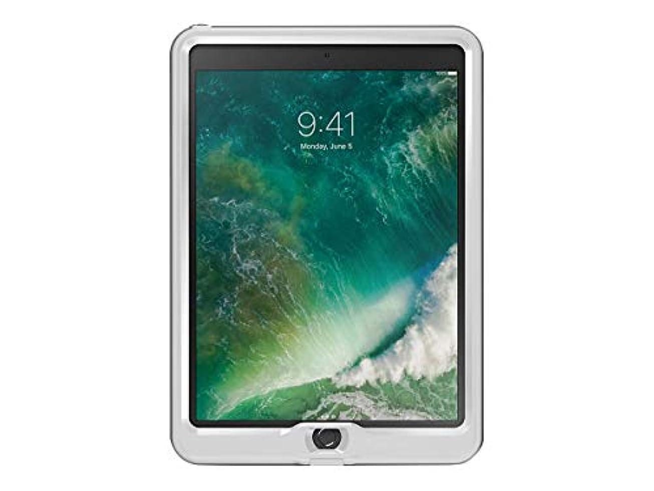 親密な心理学国民LifeProof NÜÜDシリーズ 防水ケース iPad Pro 10.5インチ用 (2017年版) プロパック - バルクパッケージ - スノーキャップグレー