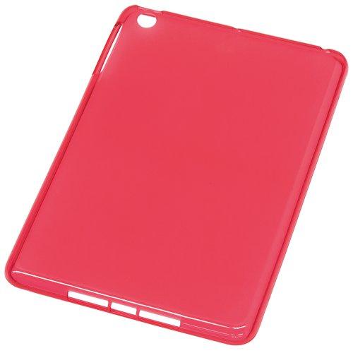 Digio2 iPadmini(7.8inchモデル)用 シェルカバー ソフトケース IPM-12SC01R レッド