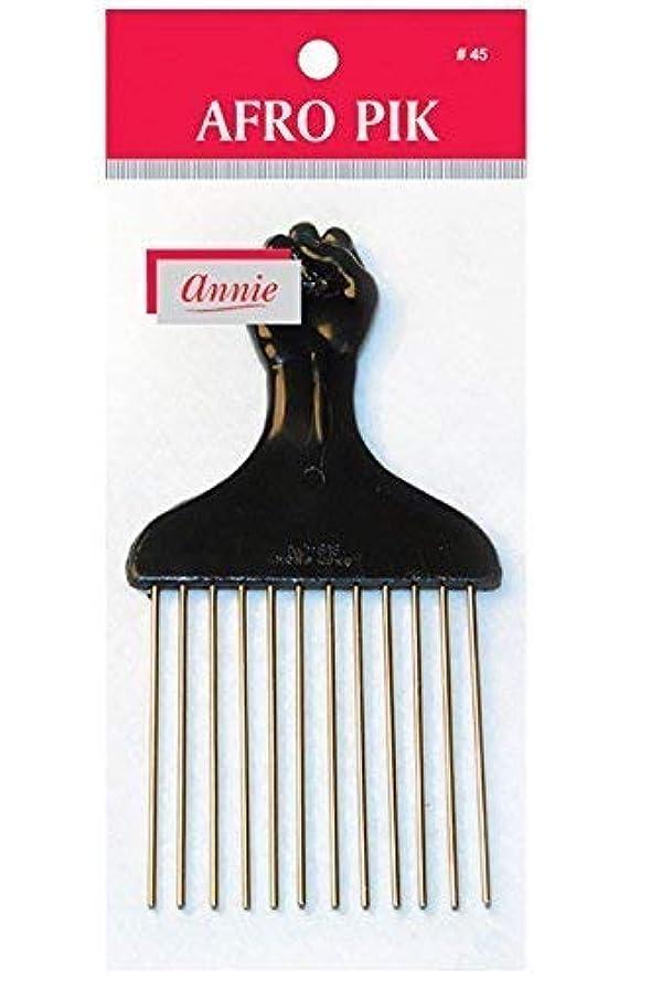 化学者安らぎ角度annie hair pik FIST Styling Pik metal afro Pik Hair Comb [並行輸入品]