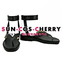 【サイズ選択可】コスプレ靴 ブーツ K-1816 NARUTO ナルト うちはマダラ 女性24CM