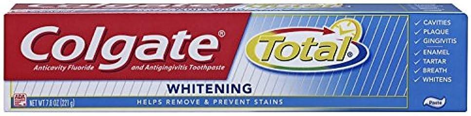 コインランドリー謙虚なレンディションColgate 総フッ化物の歯磨き粉、7.80オズ(2パック)ホワイトニング 2パック