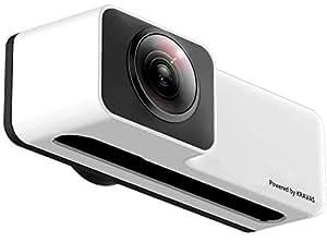 KRAVAS 360°VIEW カメラレンズ 360度カメラ iPhoneにポンとのせるだけで全方位の撮影できるパノラマカメラ (iPhone X/Xs用)