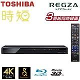 東芝 1TB HDD/3チューナー搭載3D対応ブルーレイレコーダーTOSHIBA REGZA レグザブルーレイ DBR-T1008