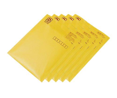 ナカバヤシ CD&DVD郵送用封筒(5枚組) イエロー CD-602-05