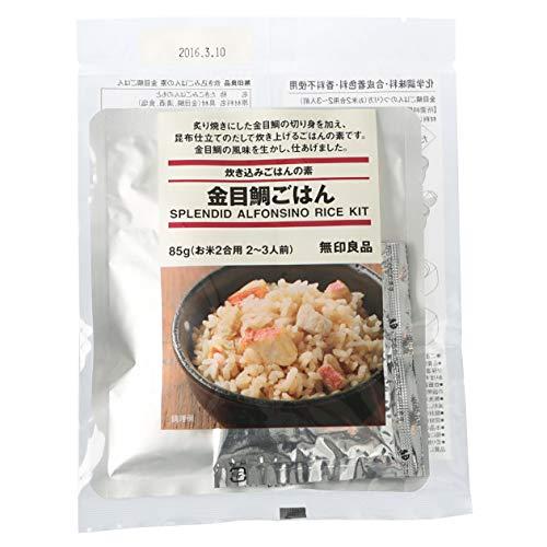 無印良品 無印良品 炊き込みごはんの素 金目鯛ごはん 5283460 良品計画 化学調味料不使用