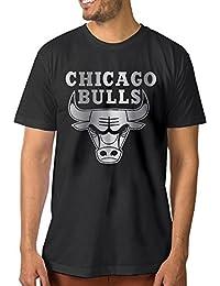 【エクセル】シカゴ?ブルズ プラチナ ロゴ 大きいサイズ Tシャツ メンズ 半袖 アウトドア スポーツウェア クルーネック
