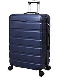 スーツケース ファスナー式 TSAロック付 アライン加工 8輪キャスター 機内持込 出張 超軽量 静音 防衝撃 旅行