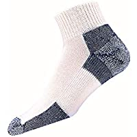 Thorlos Mens Running Thick Padded Ankle - Low Cut Socks JMX