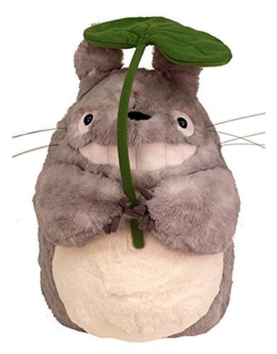 スタジオジブリ となりのトトロ ふわふわ大トトロ 笑い 葉っぱ持ち ぬいぐるみ Lサイズの詳細を見る