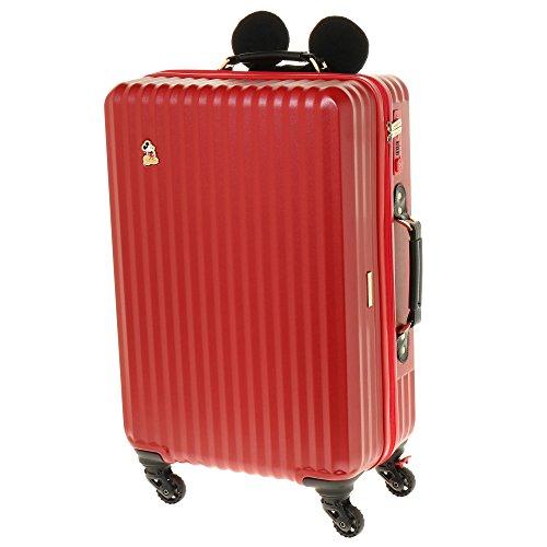 ジュエルナローズ カレッジ・ミッキー型ハンドルカバー付きスーツケース 60cm 06039
