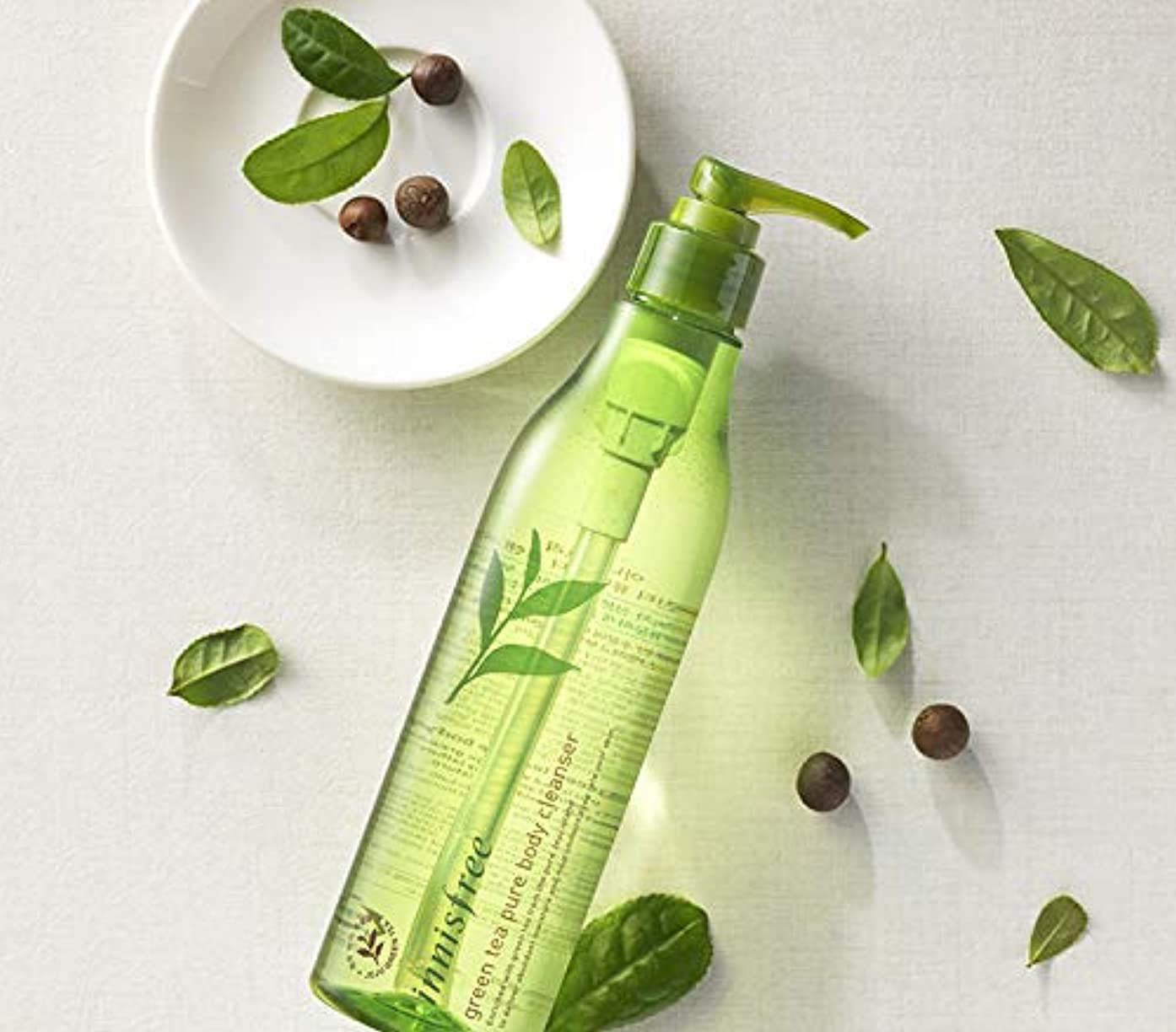 インテリア寂しい処理[イニスフリー.innisfree]グリーンティーピュアボディクレンザー300mL/ Green Tea Pure Body Cleanser