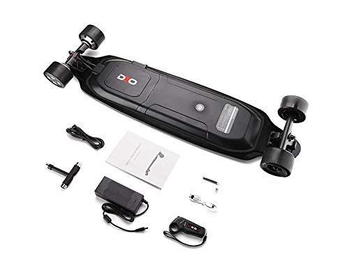 High Speed 40KM/H 4 Wheels Motorized Electric Skateboard 6.6ah LG Bat 20Km Dist