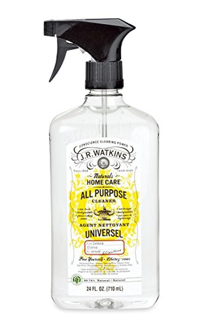 質素な財団液体J.R.Watkins(ジェイ?アール?ワトキンス) オールパーパスクリーナー レモン
