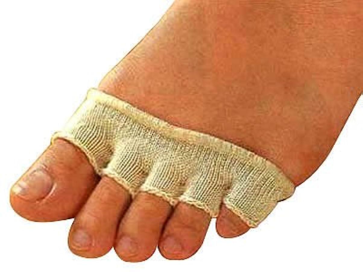 粘性のチーフ失態ひのき指の間カバー 10枚組 オフホワイト
