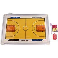 Baosity 磁気板  ドライボード バスケットボール コーチドライボード ぶら下げ式 戦術指導 試合用具 クリップボード