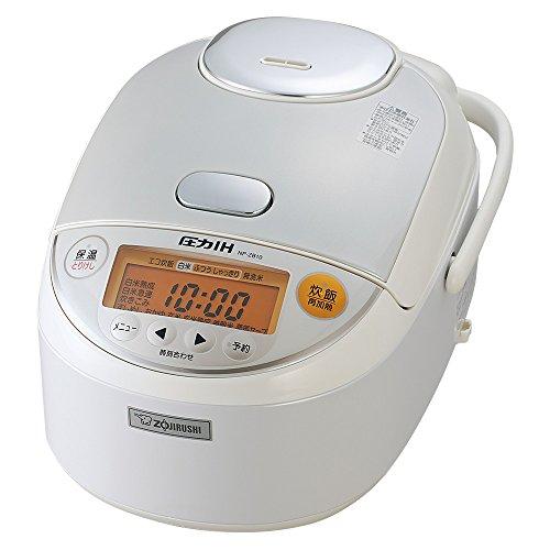 象印 圧力IH炊飯器 5.5合 ホワイト NP-ZB10-WA