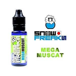 SNOW FREAKS 「MEGA MUSCAT」 20ml フレーバー:マスカット / メンソール ニコチン無し 国産 電子タバコ リキッド
