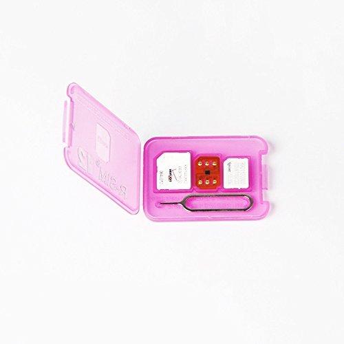Unlock Sim12 ロック解除アダプタ iOS11 対応 SIM Unlock アンロック SIMフリー 解除アダプター auto 4G iPhone X / 8 / 8 Plus / 7 / 7 Plus / 6S / 6S Plus / SE / 6 / 6 Plus / 5S iNTE-4232-RS12