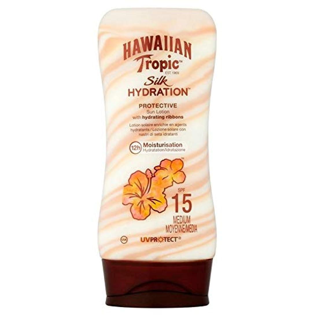 ルームグリル取り扱い[Hawaiian Tropic ] 南国ハワイシルク水和日ローションSpf 15 180ミリリットル - Hawaiian Tropic Silk Hydration Sun Lotion SPF 15 180ml [...