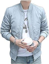 [ライオンガーデン] MA-1 ジャケット ミリタリー アウター ブルゾン メンズ 秋冬 羽織り コート M ~ 2XL