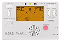 KORG チューナー/メトロノーム TM-60 WH