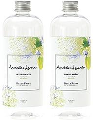 【2個セット】ノルコーポレーション アロマウォーター 加湿器 用 500ml アナベル & ラベンダー の香り OA-BLE-2-2