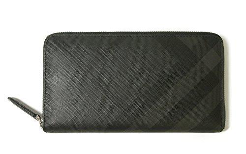 (バーバリー) 長財布 メンズ ロンドンチェック(チャコール×ブラック) BR-1360 [並行輸入品]