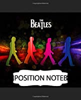 Composition Notebook: The Beatles Music 60s 70s Rock John Lennon Fans . Soft Glossy with lined Paper for Taking Notes, Writing Workbook for Teens & Children,  Composition Notebook, Journal, Diary • One Subject 7.5x9.25 • 110 Pages