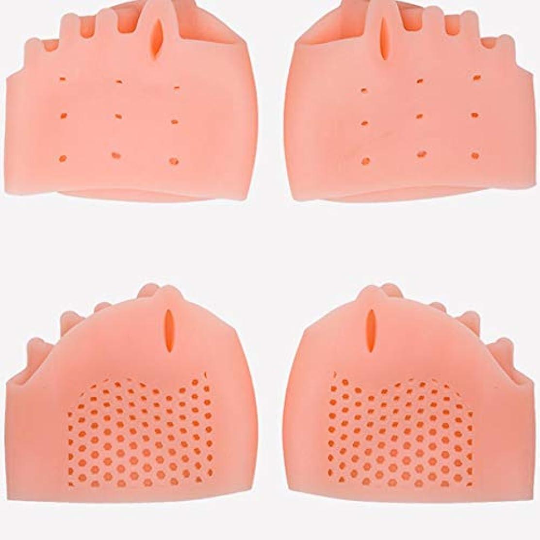 くつろぐ金額どうやってSilicone Toe Separator Foot Braces Support Little Toe Varus Corretcor for Overlapping Toe Foot Care for Men Women