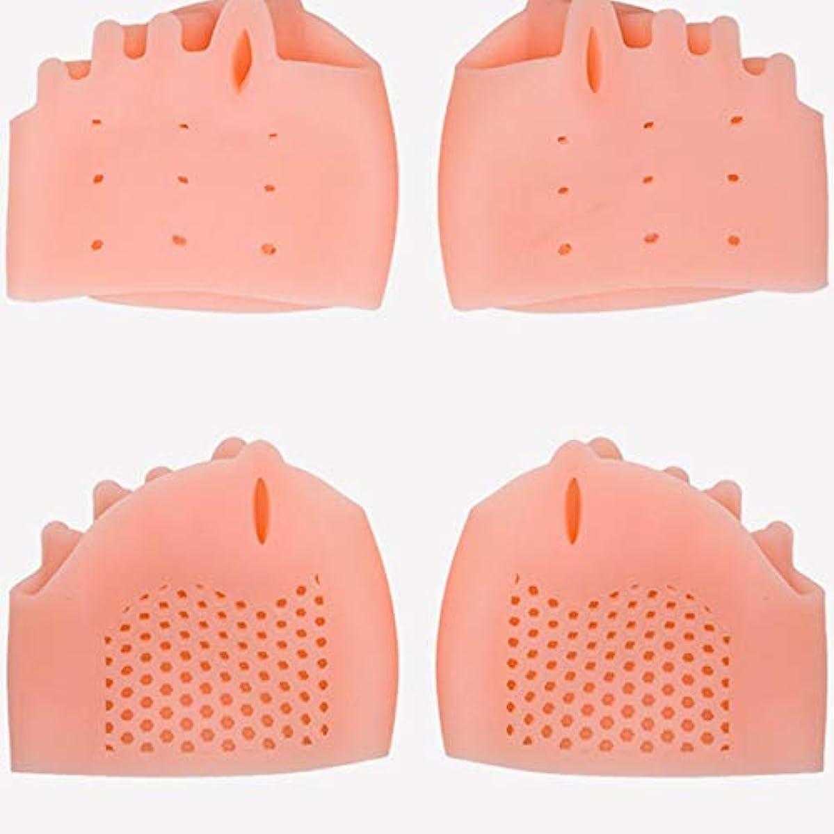 不忠否認する陪審Silicone Toe Separator Foot Braces Support Little Toe Varus Corretcor for Overlapping Toe Foot Care for Men Women